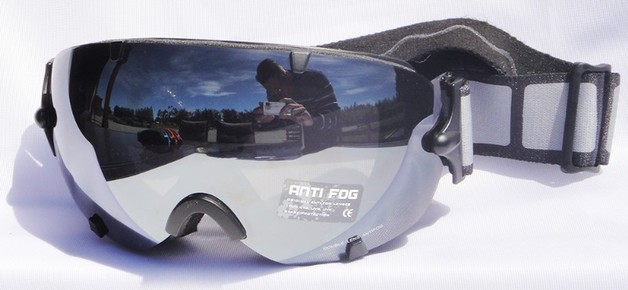 Mountain Wear Adult Mirrored Goggles: Black (G2022)