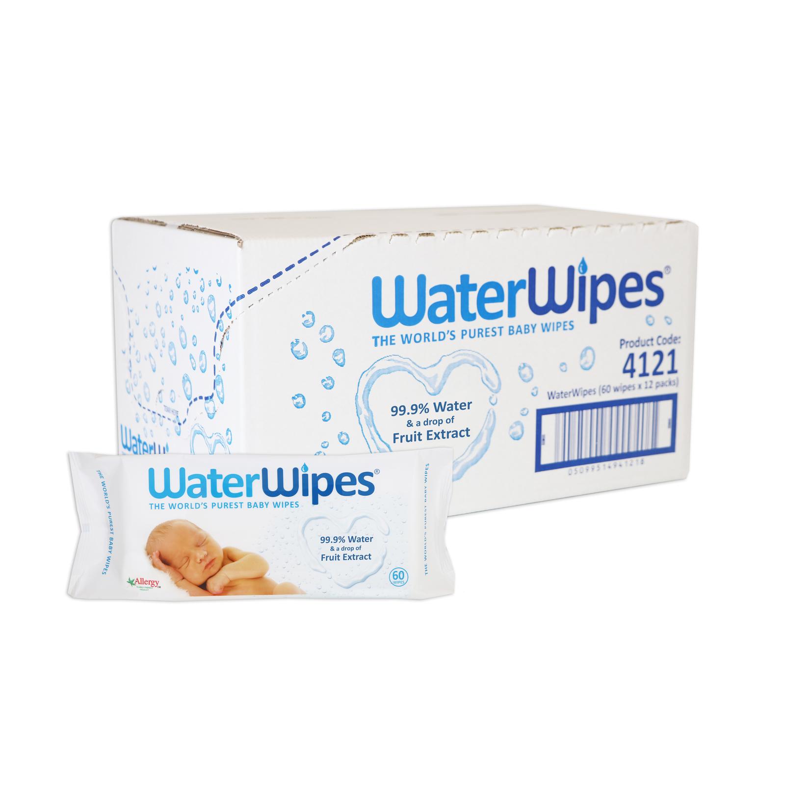 WaterWipes 12pk Box (720 Wipes) image