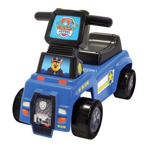Paw Patrol: Chase's Push n' Scoot - Ride-On Toy image