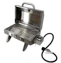 Portable Stainless Steel BBQ - Single Burner Barbecue Grill image