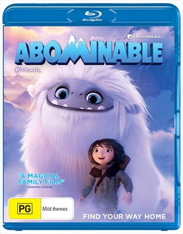 Abominable on Blu-ray