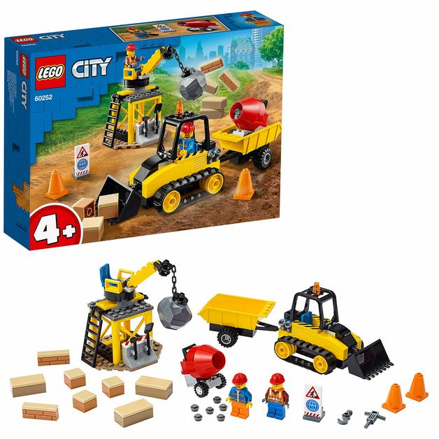 LEGO City: Construction Bulldozer - (60252)