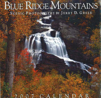 Blue Ridge Mountains Scenic Calendar 2007: 2007 by Jerry D Greer image