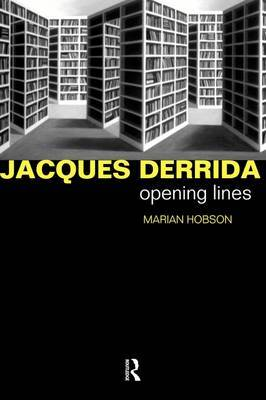 Jacques Derrida by Marian Hobson image