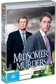 Midsomer Murders - Complete Season 5 (Single Case ) on DVD image