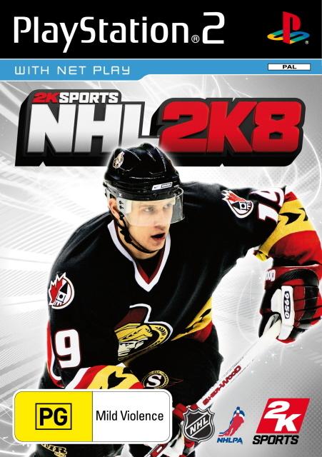 NHL 2K8 for PlayStation 2