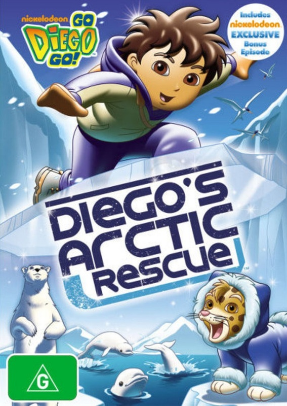 Go Diego Go!: Arctic Rescue on DVD
