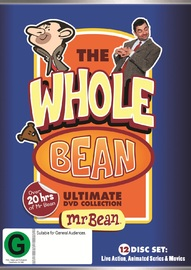 The Whole Bean Collection on DVD