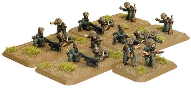 Flames of War USMC Machine-gun Platoon