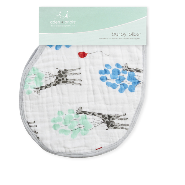 Aden+ Anais: Classic Burpy Bib - Dream Ride (2 Pack)
