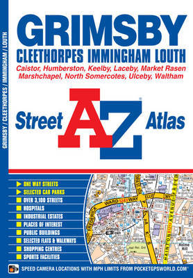 Grimsby Street Atlas by Geographers A-Z Map Company