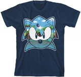Sonic the Hedgehog: Green Hill Zone - Boys T-Shirt (Large)