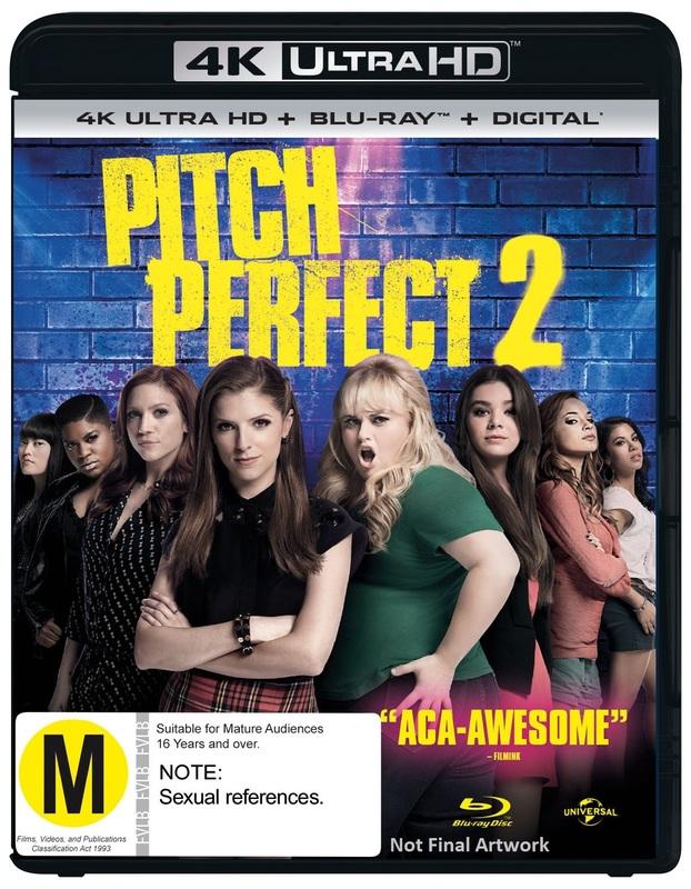 Pitch Perfect 2 (4K UHD + Blu-ray) on UHD Blu-ray