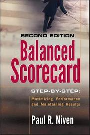 Balanced Scorecard Step-by-Step by Paul R Niven