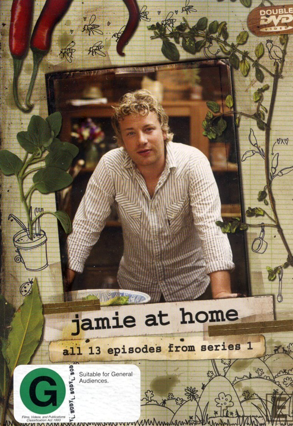 Jamie At Home - Series 1 (2 Disc Set) on DVD image