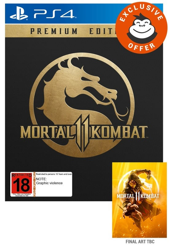 Mortal Kombat 11 Premium Edition for PS4