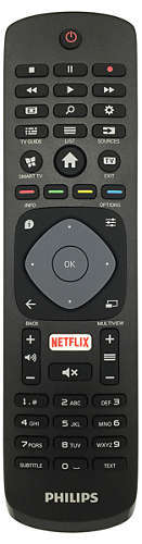 "Philips: 6100 Series 55"" 4K HDR Smart TV - 3 x HDMI , 2 x USB, Wifi & RJ45 image"