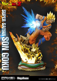 "Dragon Ball Z: Super Saiyan Son Goku - 25"" Premium Statue"