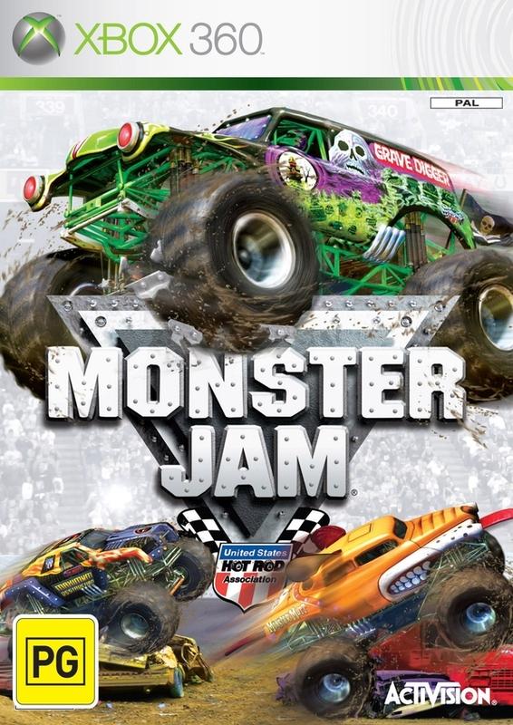 Monster Jam for Xbox 360