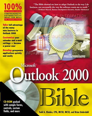 Outlook 2000 Bible by Todd A. Kleinke