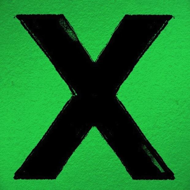 x by Ed Sheeran image