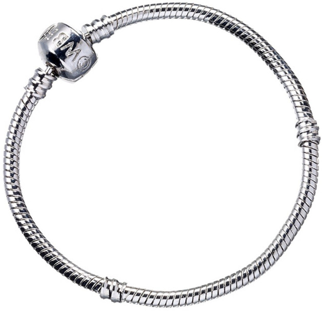 Harry Potter: Silver Plated Slider Charm Bracelet (XL)