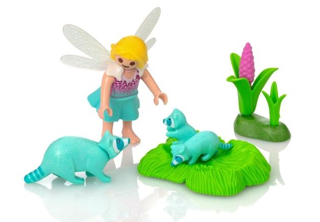Playmobil: Fairies - Fairy Girl with Racoons (9139)