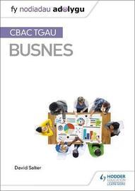 Fy Nodiadau Adolygu: CBAC TGAU Busnes by David Salter image