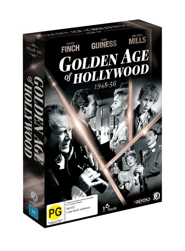 Golden Age of Hollywood (1948-1956) on DVD