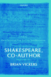 Shakespeare, Co-Author by Brian Vickers image