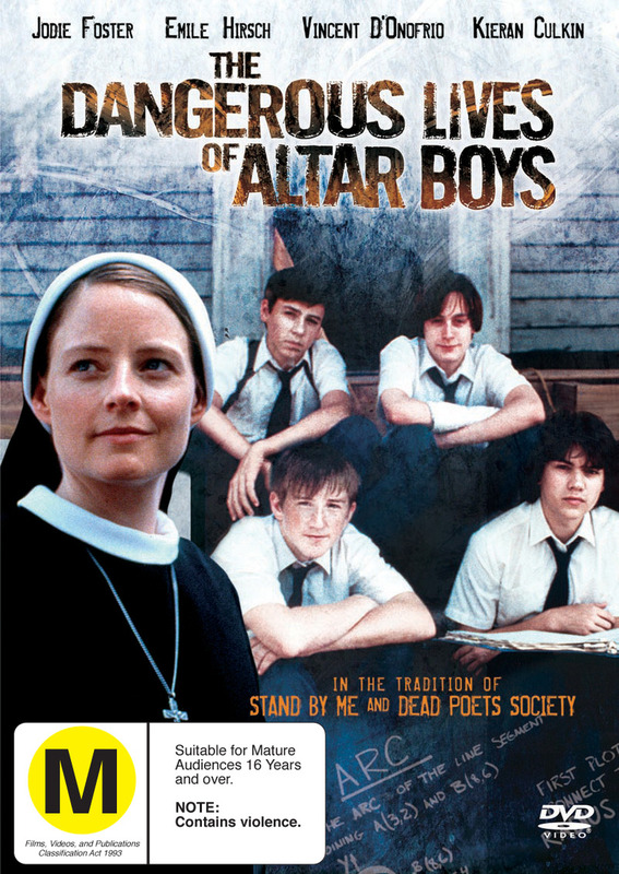 The Dangerous Lives Of Altar Boys on DVD