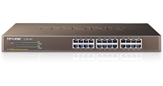 TP-Link TL-SF1024 24-Port 10/100Mbps Rackmount Switch