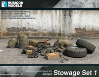 Rubicon 1/56 Allied Stowage Set 1