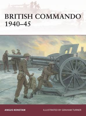 British Commando 1940-45 by Angus Konstam image