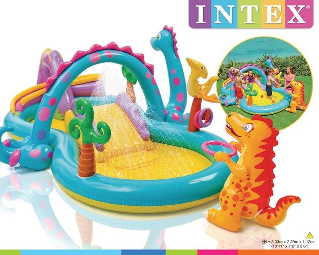 Intex: Dinoland Play Center
