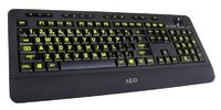 AZIO: VISION Large Print - Backlit Keyboard