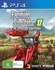 Farming Simulator 17 Platinum Edition for PS4