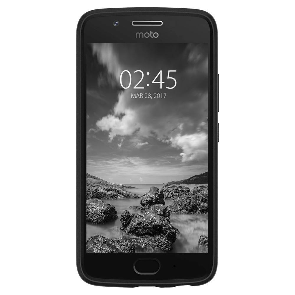 new concept 85d43 82498 Spigen: Motorola Moto G5 Plus - Rugged Armour Case (Black)