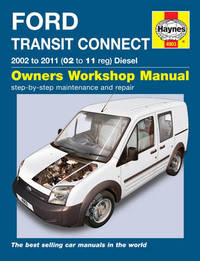 Ford Transit Connectsel Service And Repair Manual By M R Storey