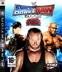 WWE Smackdown! vs. RAW 2008 (Platinum) for PS3 image