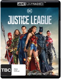 Justice League (4K UHD + Blu-ray) on UHD Blu-ray