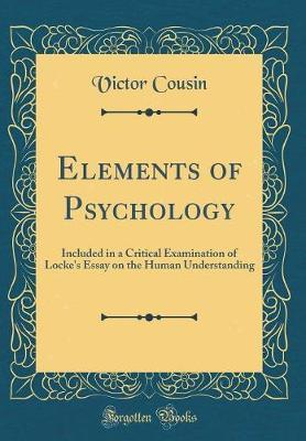 Elements of Psychology by Victor Cousin