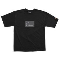 Poll - Tshirt (Black) for  image