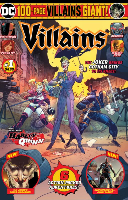 DC Comics: Villains Giant - #1 (Cover A)