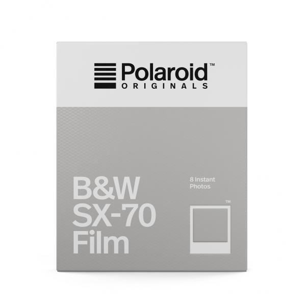 Polaroid: Originals B&W Film for SX-70
