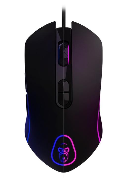 Gorilla Gaming Elite RGB Gaming Mouse for PC