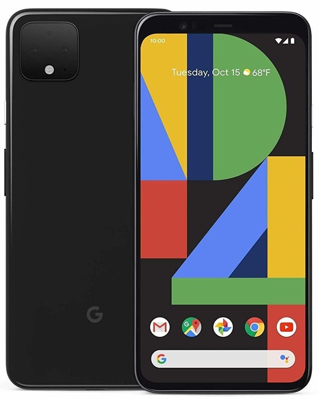 Google Pixel 4 XL - Black (64GB) [Damaged packaging]