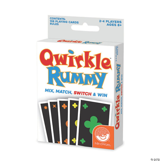 Mindware: Qwirkle Rummy - Card Game