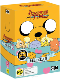 Adventure Time: Jake the Dad with Jake Hat - Collection 5 on DVD