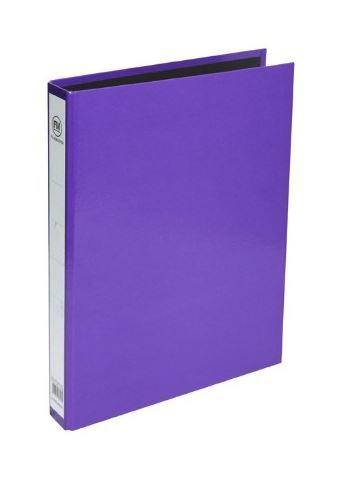 FM Vivid Polyprop Ringbinder - Purple
